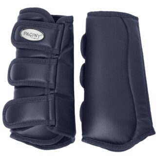 Pagony Dressage Boots achter donkerblauw