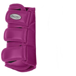 Pagony Dressage Boots achter fuchsia