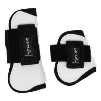 Pagony Pro Velcro Pees- en kogelbeschermerset wit