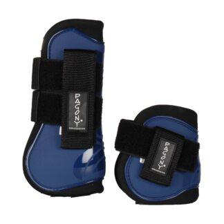 Pagony Pro Velcro Pees- en kogelbeschermerset donkerblauw