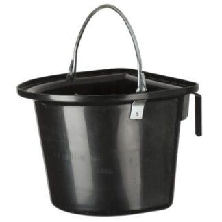 Toernooi voer-/wateremmer zwart